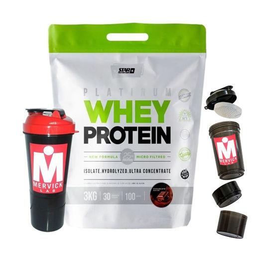 Imagen de Premium Whey Protein 3Kg + Smart Shaker 3 en 1